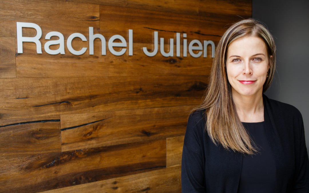 Real estate conversation with Melanie Robitaille from Rachel Julien